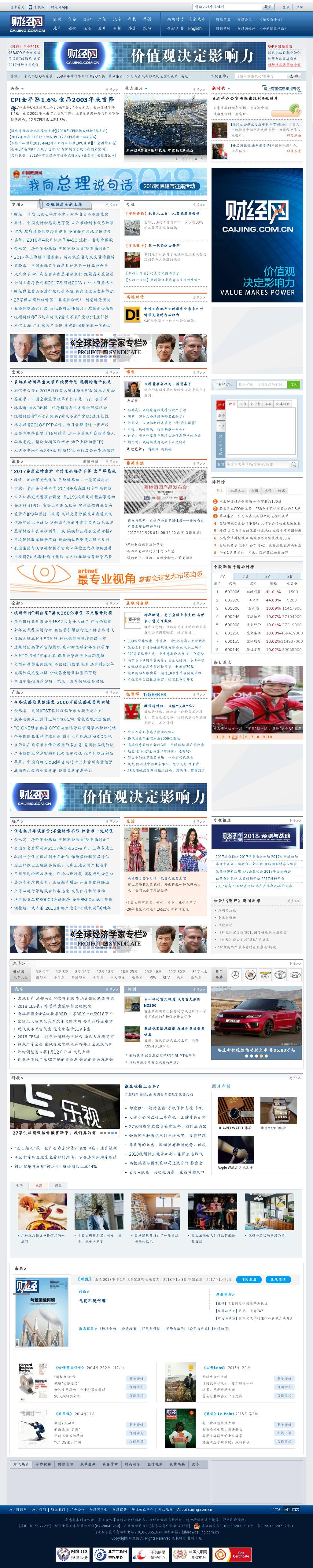 Caijing at Wednesday Jan. 10, 2018, 12:01 p.m. UTC