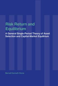 Cover of: Risk, return, and equilibrium   B. K. Stone